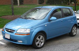 Chevrolet Aveo T200 factory workshop and repair manual