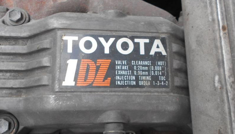 Toyota 1DZ-II engine factory workshop and repair manual download